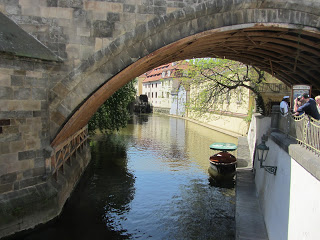 Under the Charles Bridge - Prague