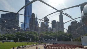 Chicago Concert at Pritzker Pavillion