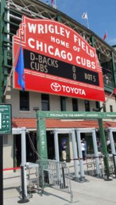 Chicago Cubs Wrigley Field Entrance
