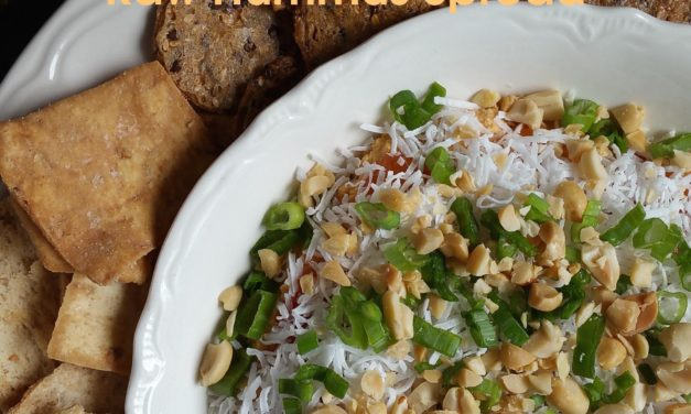 Indian Curried & Chutney Raw Sprouted Hummus Spread