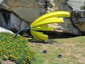 Australia - Sculpture by the Sea - Lime Green