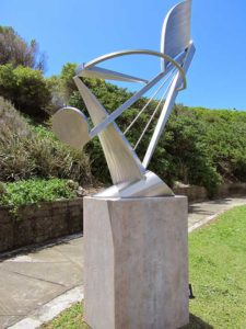 Australia - Sculpture by the Sea - Metal on Concrete