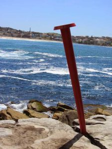 Australia - Sculpture by the Sea - Red Tack