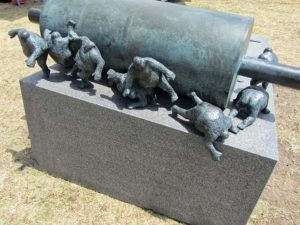 Australia - Sculpture by the Sea - Rolled Men