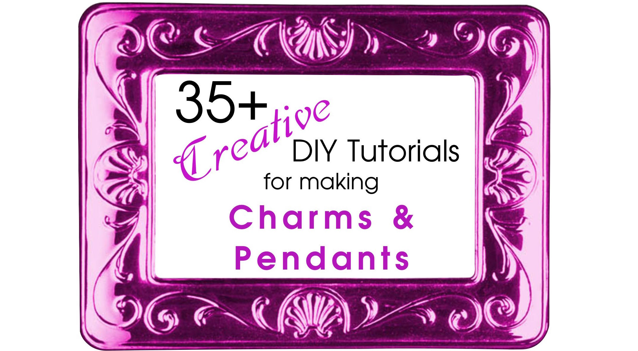 35 creative diy tutorials for making pendants and charms for Jewelry making classes san diego