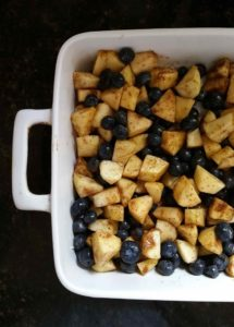 Blog - Recipe - Apple Blueberry Crisp Fruit