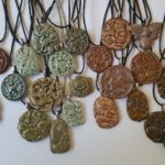 In Shop: Diane's Handmade Ceramic Pendant Necklaces