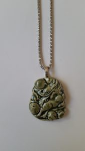 Ceramic Pendant Necklace-13
