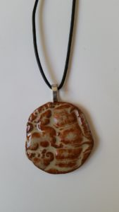 Ceramic Pendant Necklace-16