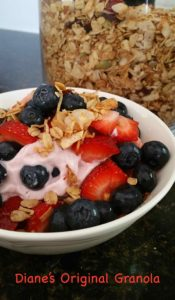 Diane's Original Granola Recipe - THE Best!