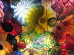 Chihuly Glass - Ceiling from Chihuly Garden & Glass Exhibit