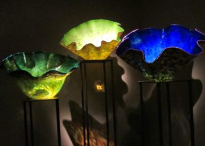 Chilhuly Glass - 3 Vessels from Chihuly Garden & Glass Exhibit