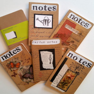 Kraft Paper Collaged Journal