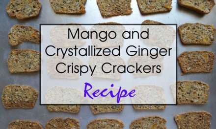 Mango and Ginger Crispy Crackers