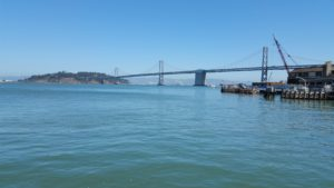 San Francisco Embarcadero - View to Bay Bridge
