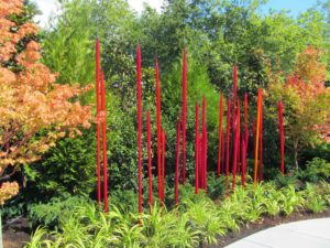 Seattle - Chihuly Garden & Glass Red Spikes