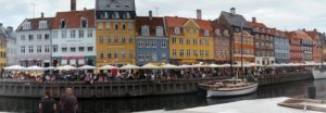 Copenhagen, Denmark Photo - Panoramic of New Harbor