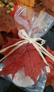 Autumn Spice Melt and Pour Soap - Packaged for an easy, quick gift!