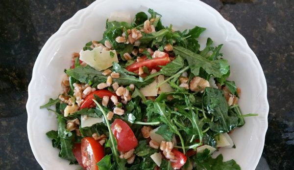 Farro and Arugula Salad Recipe - So appetizing!