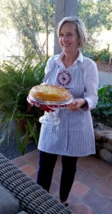 Bonnie Jo Manion - Present Caramel Apple Upside Down Olive Oil Cake!