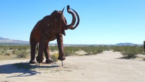Borrego - Mammoth sculpture