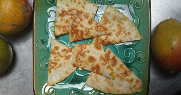 Brie and Mango Quesadillas - Recipe
